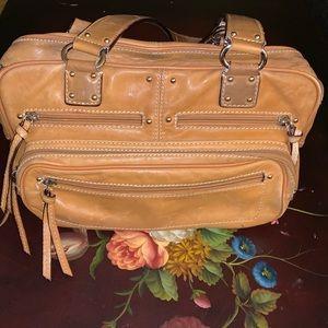 Leather Tignanello purse
